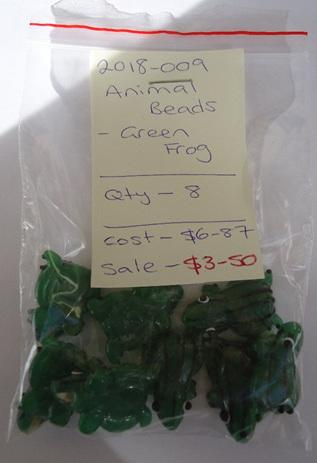 Animal Beads - Green Frog