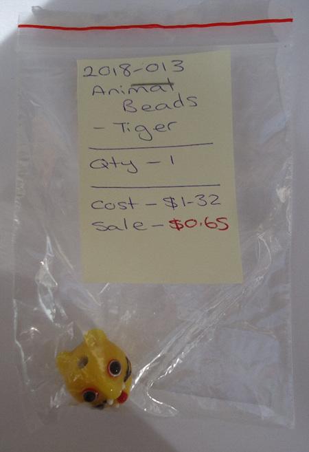 Animal Beads - Tiger