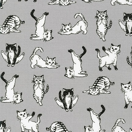 Animal Club Cats Grey 850328D1-4