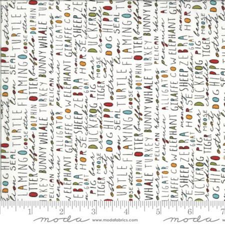 Animal Crackers Words Vanilla 3804-15