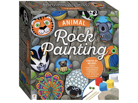 Animal Rock Painting Kit