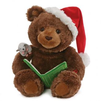 Animated Story time Christmas Bear