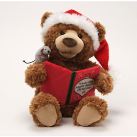 Animated Story time Christmas Bear