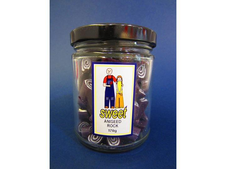 aniseed rock jar