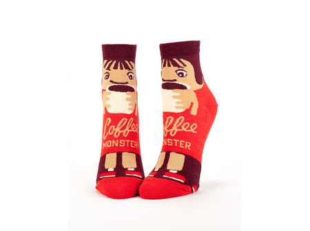 Ankle Socks Coffee Monster BQSW607