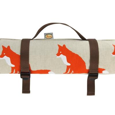 Anorak Fox Picnic Blanket