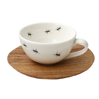 Espresso Cup & Saucer - Ant