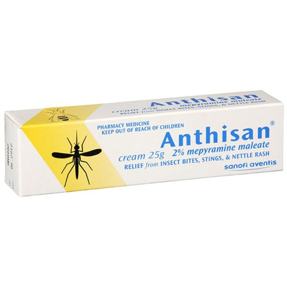 Anthisan Cream Tube 25g