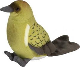 Antics Bellbird (Korimako) with Realistic Sound 15cm
