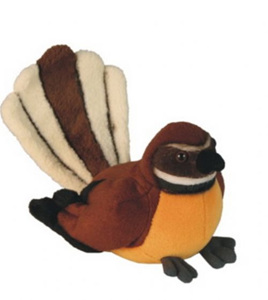 Antics Fantail with Realistic Sound 15cm