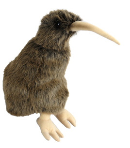 Antics Kiwi Hand Puppet with Realistic Sound