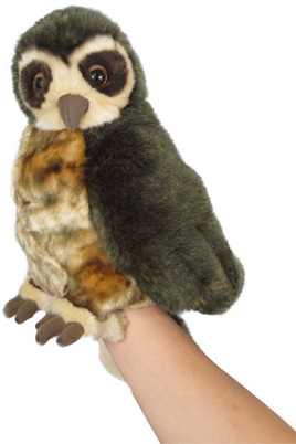 Antics Morepork Hand Puppet with Realistic Sound