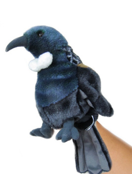 Antics Tui Hand Puppet with Realistic Sound