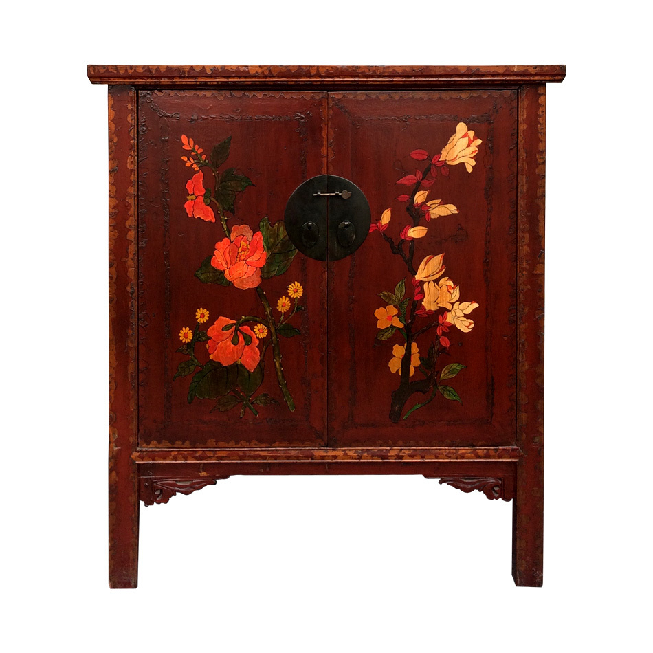 Chinese cabinet chinese antiques lotus antiques for Chinese furniture