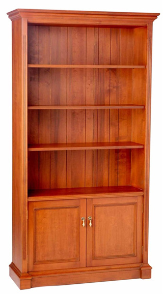 Stone Abbey Bookcase Two Doors