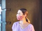 Antique Rose Face Mask