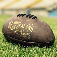 Antique Rugby Ball - Mini 18cm