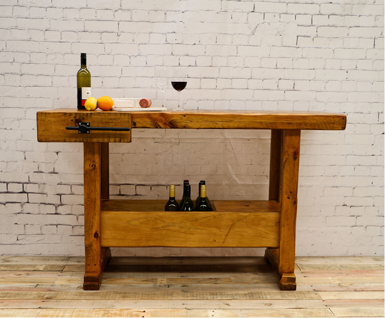 antique woodwork bench hire