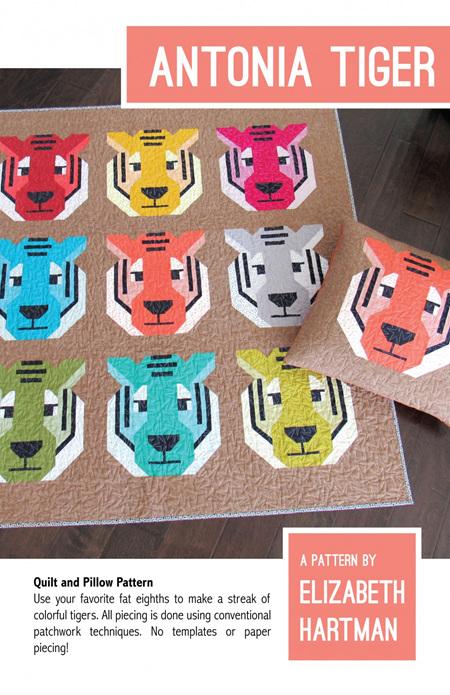 Antonia Tiger Quilt Pattern