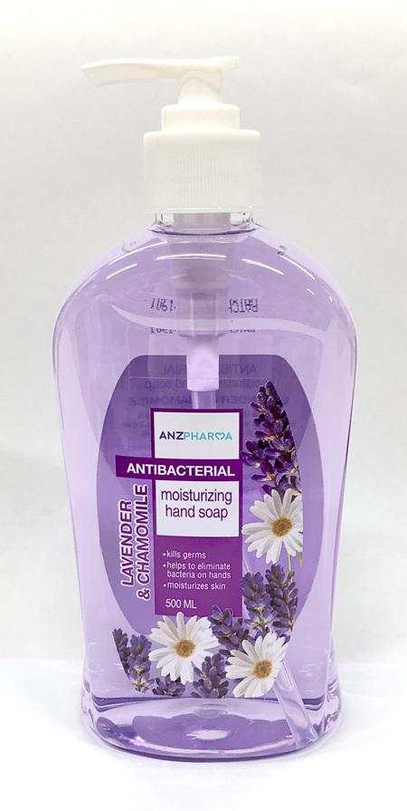 ANZ ANTIBACTERIAL HAND SOAP LAVENDER