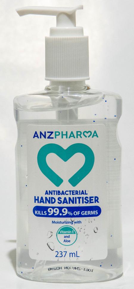 ANZP  HAND SANITIZER 237ML