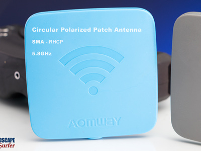 Aomway SMA - Circular Polarized Patch Antenna- 5.8GHz - RHCP