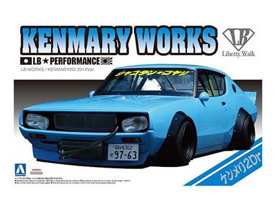 Aoshima 1/24 LB Works KenMary Skyline 2Dr 2014 Ver