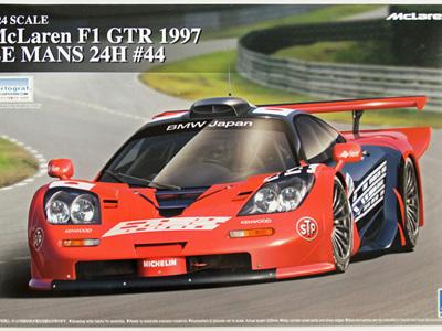 Aoshima 1/24 McLaren F1 GTR 1997 Le Mans 24h