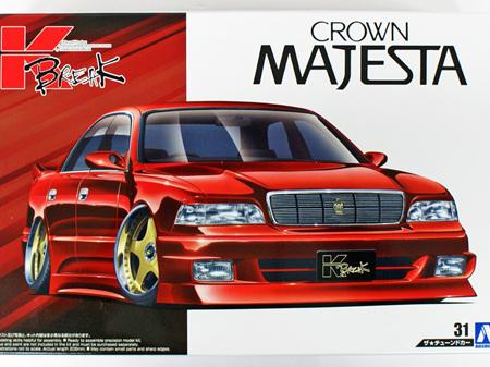 Aoshima 1/24 Toyota Crown K-Break UZS141 Majesta 1991