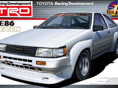 Aoshima 1/24 TRD Toyota AE86 Levin