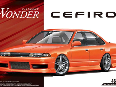 Aoshima 1/24 Wonder A31 Cefiro '90 Nissan