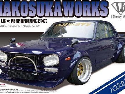 Aoshima 1/24 1/24 LB Works Hakosuka 2Dr