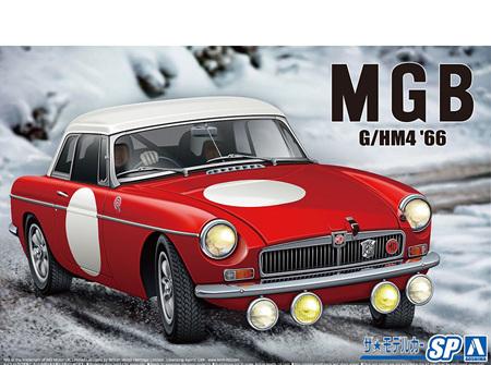 Aoshima 1/24 BLMC G/HM4 MG-B Club Rally Version 1966 (AOS06126)