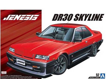 Aoshima 1/24 Jenesis Auto DR30 Nissan Skyline 1984 (AOS5579)