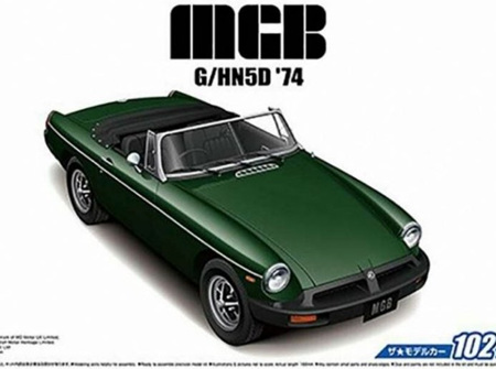 Aoshima 1/24 MGB MK-3 G/HN5D 1974 (AOS05686)