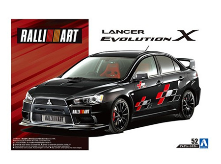 Aoshima 1/24  RALLIART CZ4A LANCER EVOLUTION X '07