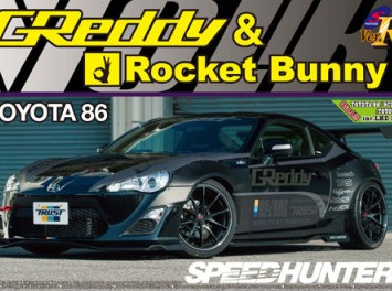 Aoshima 1/24 Toyota 86 2012 Greddy & Rocket Bunny Volk Racing Version