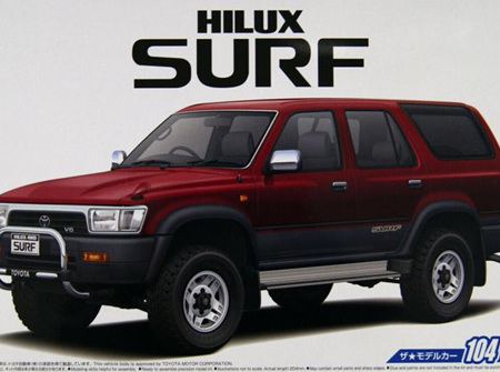 Aoshima 1/24 Toyota VZN130G Hilux Surf SSR X Wide Body 1991 (AOS05698)
