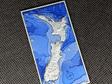 Aotearoa Deluxe Geocoin - V4 Antique Silver LE