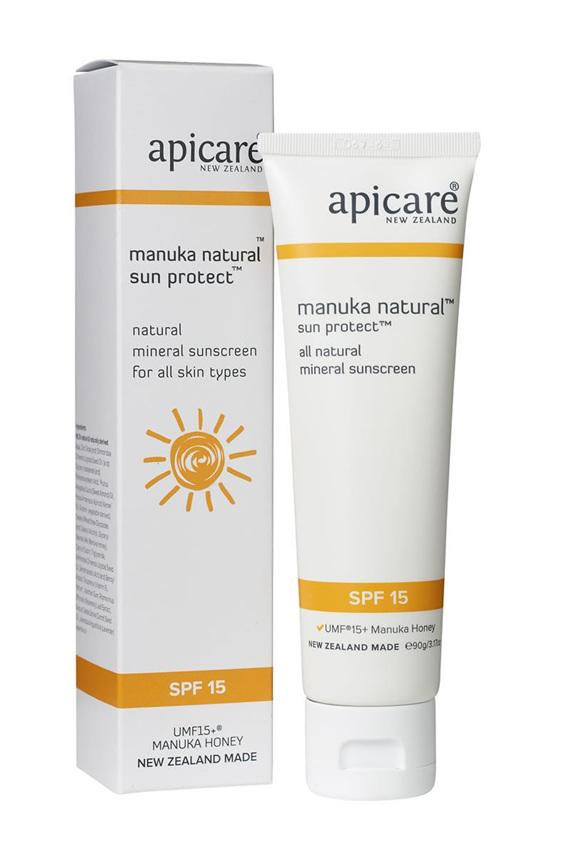 Apicare Manuka Natural Sun Protect SPF 15 90g