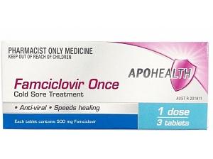 APO Famciclovir Once 500mg 3 tabs