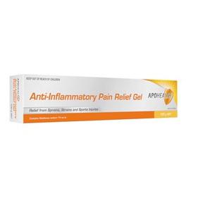 APO HEALTH ANTI INFLAMMATORY PAIN RELIEF GEL 100G