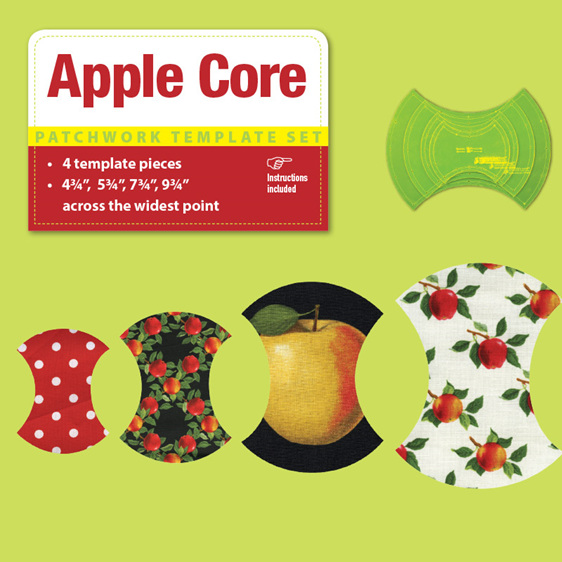 "Apple Core Template (4.75"", 5.75"", 7.75"", 9.75"")"
