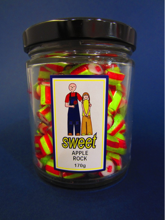 apple rock jar