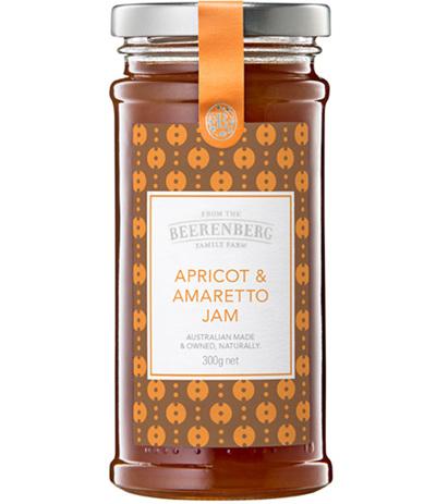 Apricot & Amaretto Jam - 300g