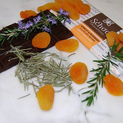 Apricot & Rosemary chocolate