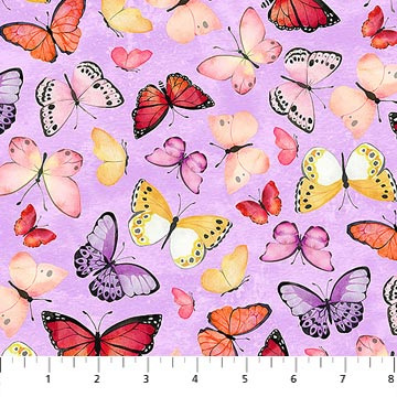 April Showers - Butterfly Purple