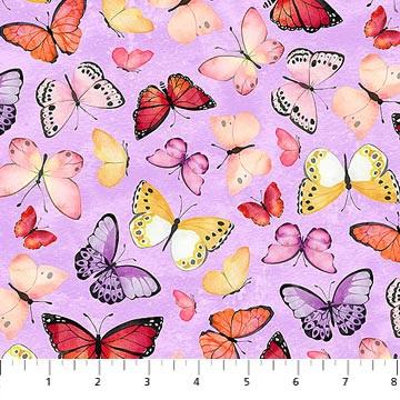April Showers - Butterfly Purple