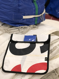 AQ Book bags durable and great for sailors made from sail cloth
