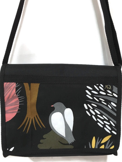 Kiwa satchel - bird on a bag
